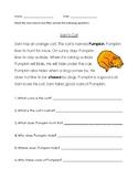 Reading Comprehension #1