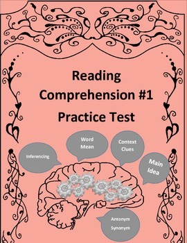 Reading Comprehension #1 Inferencing,Main Idea,Word Mean,C