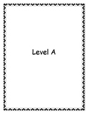 Reading Comprehension (1 week warm-up) Level A, B, C (Reso