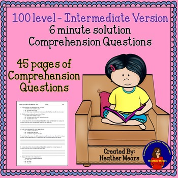 Reading Comprehension 100 level Intermediate