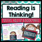 Reading Comprehension Posters and Foldups