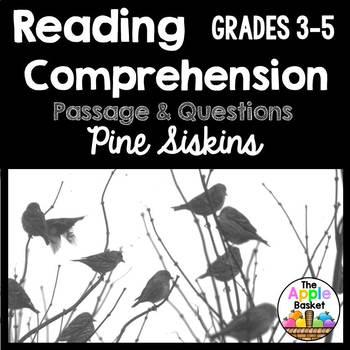 Pine Siskins Informational Passage