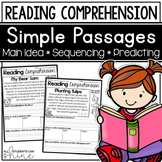Reading Response Passages {DIGITAL version in Google Slides included!}