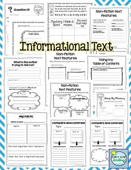 Reading Comprehension 2nd Grade ~ Reading Fluency Making Inferences