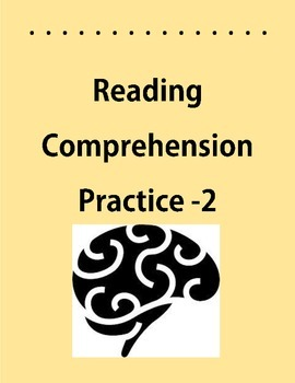 Reading Comprehension #2 Main Idea,Inferencing,Word Mean,Context Clues,Ant./Syn