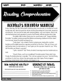 Reading Comprehension #2 Rochelle's Birthday Surprise