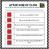Great Wall of China Webquest