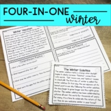 Reading Comprehension: Winter Passages | Upper Elementary