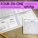 Reading Comprehension: Spring Passages | Upper Elementary