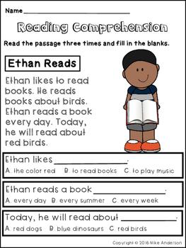 FREE Reading Comprehension Printables