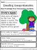 FREE Reading Comprehension Printables