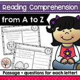 Reading Comprehension Passages | Distance Learning