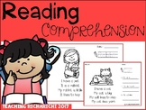 Reading Comprehension Coronavirus Packet Distance Learning