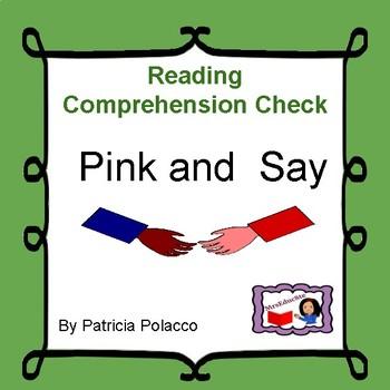 Reading Comprehension check