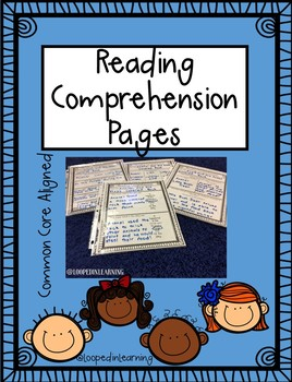 Reading Comprehension Response Sheets