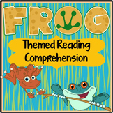 Frog Reading Comprehension Passages & Activities