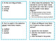 Reading Comprehension 3rd Grade Scoot or Task Cards
