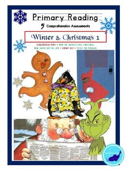 Reading Comprehension 5-Quiz CHRISTMAS & WINTER BUNDLE
