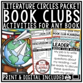 Book Club Activities: Literature Circles for Any Book- Reading Response Activity