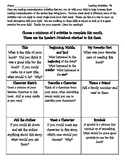 Reading Comprehension Activities #3