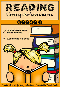 Reading Comprehension Activities - Grades 1 and 2 - Printable Worksheets