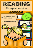Reading Comprehension Activities - Grades 1 and 2 - Worksh