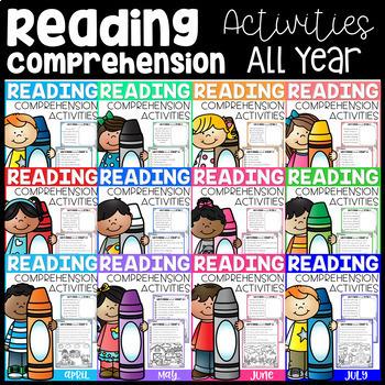 Reading Comprehension Activities (Growing Bundle)