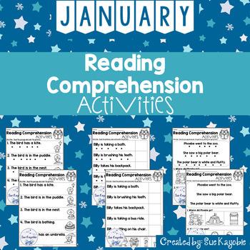 Reading Comprehension Activities Growing Bundle