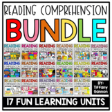 Reading Comprehension Activities and Crafts BUNDLE