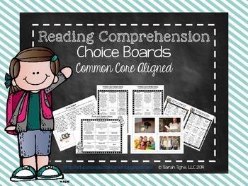 Common Core Reading Choice Boards