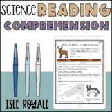 Reading Comprehension Activity - Middle School Science   P