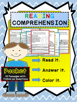 Reading Comprehension Activity Packet