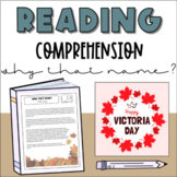 Reading Comprehension Activity: Why that Name?   Victoria