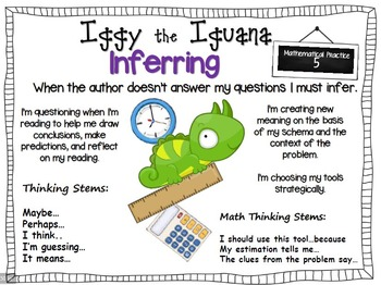 Reading Comprehension Aligned with 8 Mathematical Practices