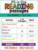 Reading Comprehension All-in-One Bundle SET TWO