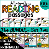 Phonics Reading Comprehension Passages & Questions Bundle 2 |Distance Learning