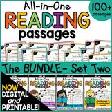 Phonics Reading Comprehension Passages & Questions Bundle 2 |Distance Learning
