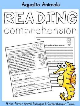 Reading Comprehension:  Aquatic Animals
