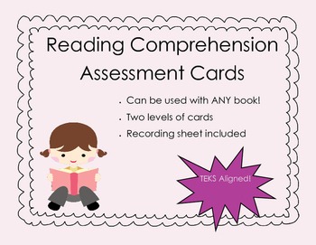 Reading Comprehension Assessment Cards