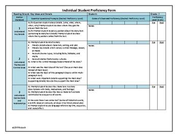 Reading Comprehension Assessment: Grade 3