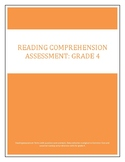 Reading Comprehension Assessment: Grade 4