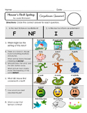 Reading Comprehension Assessment [High Level Questions] MOUSE'S FIRST SPRING
