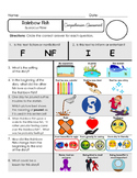 Reading Comprehension Assessment [High Level Questions] RAINBOW FISH