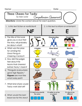 Reading Comprehension Assessment [High Level Questions] TH