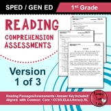 Reading Comprehension Assessments (1st) Version 1