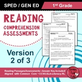 Reading Comprehension Assessments (1st) Version 2