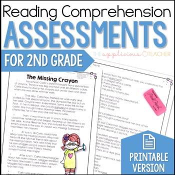Reading Comprehension Tests 2nd Grade