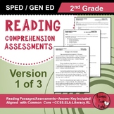 Reading Comprehension Assessments (2nd) Version 1