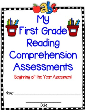 Reading Comprehension Assessments