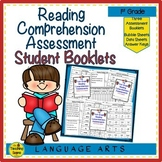 First Grade Yearly Reading Comprehension Assessment Bookle